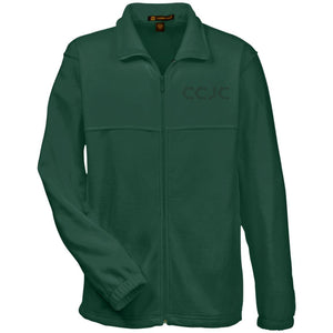 CCJC M990 embroidered Harriton Fleece Full-Zip