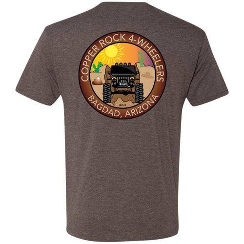Copper Rock 4-Wheelers 2-sided print NL6010 Men's Triblend T-Shirt