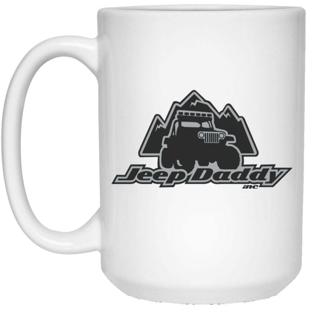 JeepDaddy 15 oz. White Mug