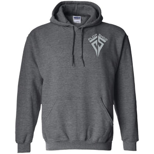 Flop Shop gray logo 2-sided print G185 Gildan Pullover Hoodie 8 oz.