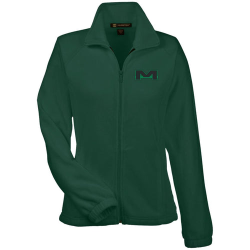 MOAB Motorsports embroidered M990W Harriton Women's Fleece Jacket