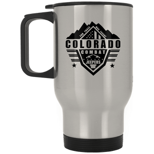 Colorado Combat Jeepers XP8400S Silver Stainless Travel Mug