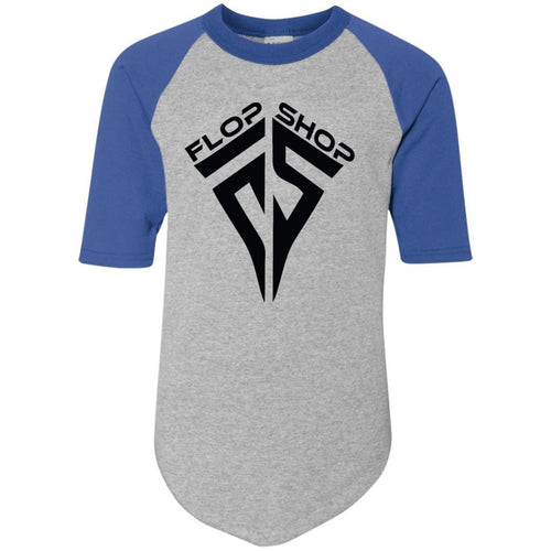 Flop Shop 421 Augusta Youth Colorblock Raglan Jersey