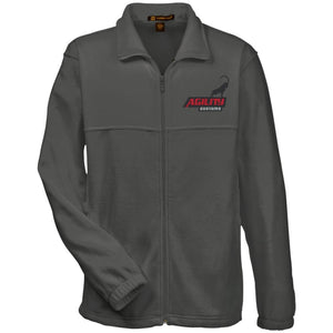 Agility Customs embroidered M990 Harriton Fleece Full-Zip