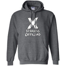 Sparky's Offroad white logo G185 Gildan Pullover Hoodie 8 oz.