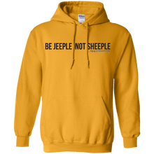 JeepDaddy Be Jeeple Not Sheeple Pullover Hoodie