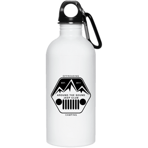 ASJC 23663 20 oz. Stainless Steel Water Bottle