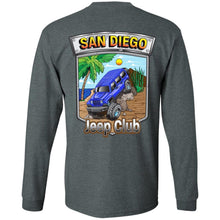 San Diego jeep club 2-sided print 2-sided print G240 Gildan LS Ultra Cotton T-Shirt