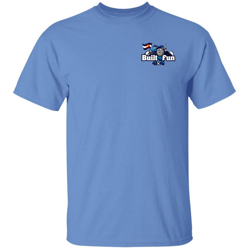 Built4Fun blue 2-sided print G500 Gildan 5.3 oz. T-Shirt