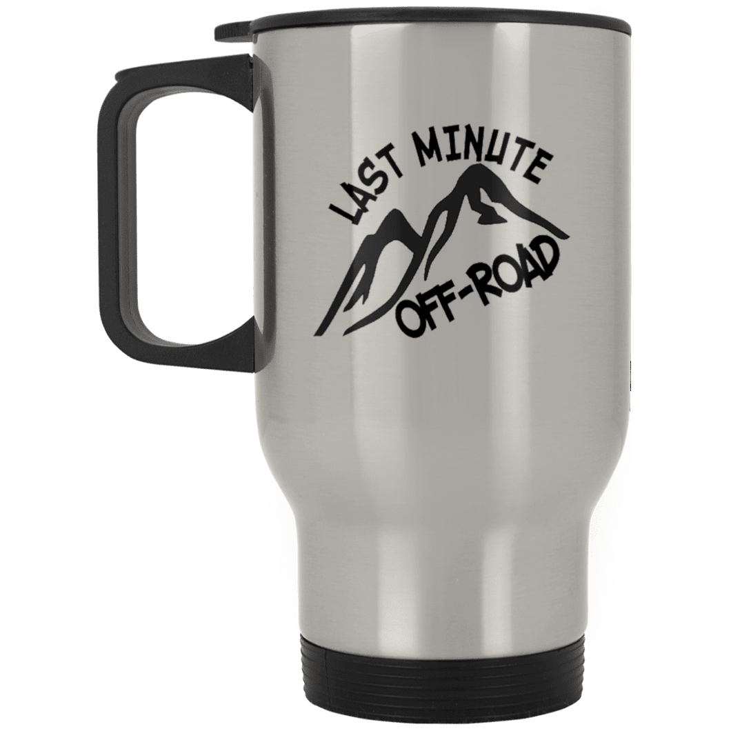 Last Minute Offroad XP8400S Silver Stainless Travel Mug