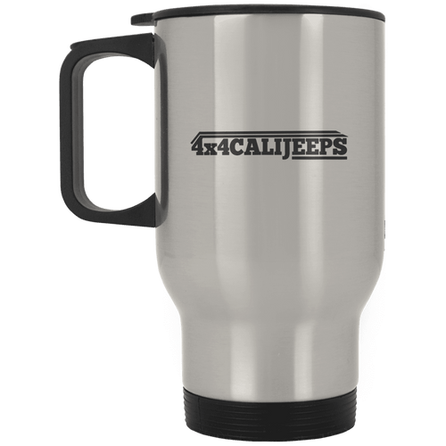 California Jeeps XP8400S Silver Stainless Travel Mug