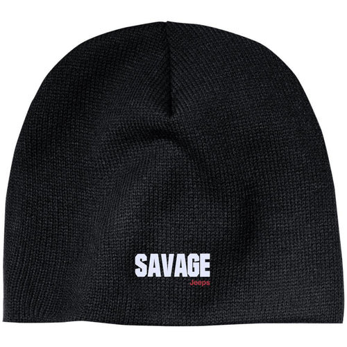 Savage Jeeps embroidered CP91 100% Acrylic Beanie