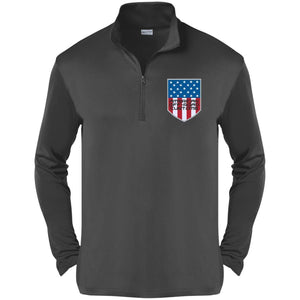 American Off-Road embroidered logo ST357 Sport-Tek Competitor 1/4-Zip Pullover