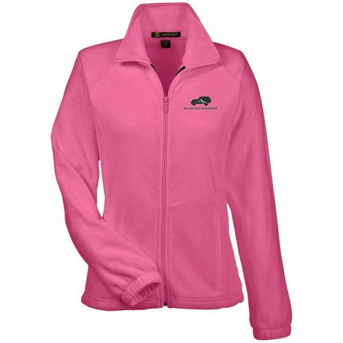 Black Jeep Battalion embroidered M990W Harriton Women's Fleece Jacket