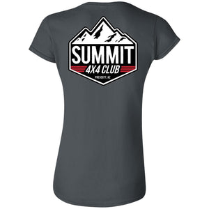 Summit 4x4 2-sided print G640L Gildan Softstyle Ladies' Fitted T-Shirt