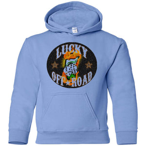 Lucky 7 Offroad G185B Gildan Youth Pullover Hoodie
