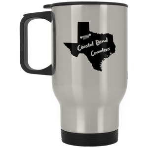 Coastal Bend Crawlers XP8400S Silver Stainless Travel Mug