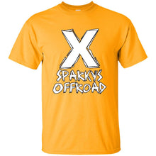 Sparky's Offroad white logo G200B Gildan Youth Ultra Cotton T-Shirt
