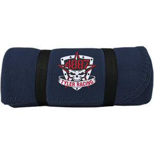 Tyler Racing embroidered BP10 Port & Co. Fleece Blanket