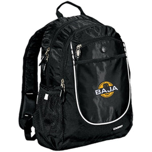 BAJA embroidered logo 711140 OGIO Rugged Bookbag