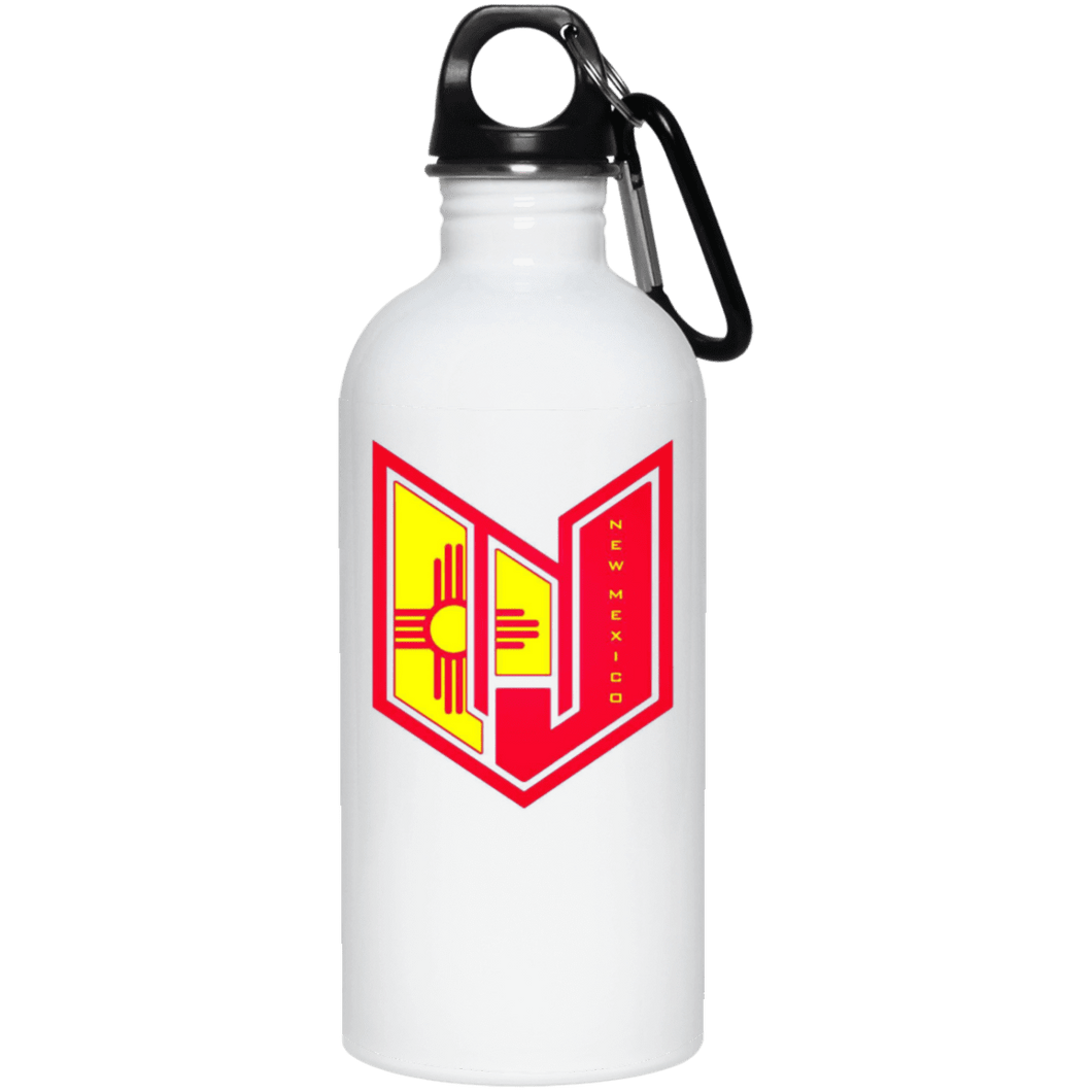 Wicked Jeeps NM 23663 20 oz. Stainless Steel Water Bottle