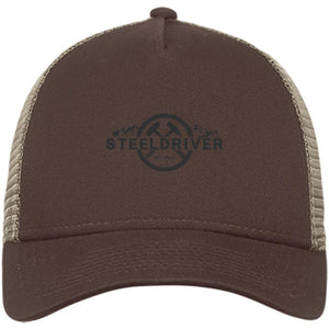 SteelDriver embroidered NE205 New Era® Snapback Trucker Cap