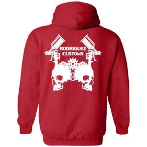 Rodriguez Customs 2-sided print G185 Gildan Pullover Hoodie 8 oz.