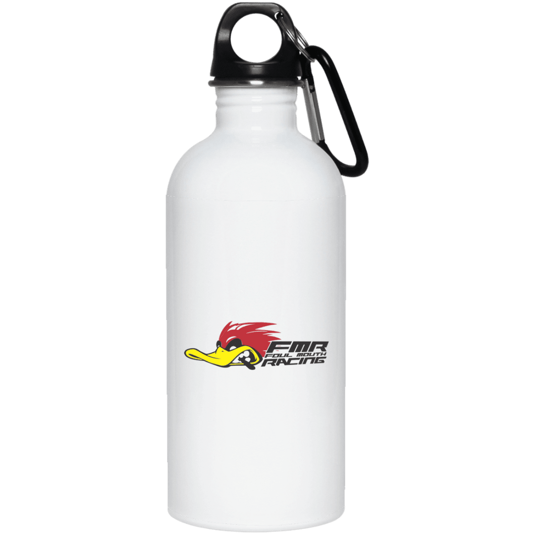 FOUL MOUTH RACING 23663 20 oz. Stainless Steel Water Bottle