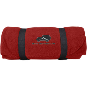 Black Jeep Battalion embroidered BP10 Port & Co. Fleece Blanket