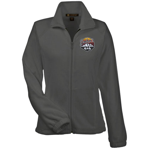 John's 4x4 embroidered M990W Harriton Women's Fleece Jacket