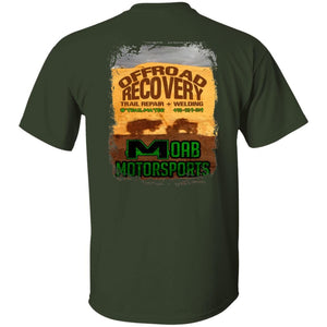 Moab Motorsports 2-sided print w/Trailmater back G500B Gildan Youth 5.3 oz 100% Cotton T-Shirt
