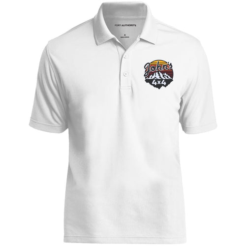 John's 4x4 embroidered K110 Port Authority Dry Zone UV Micro-Mesh Polo