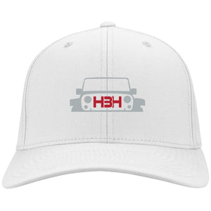 HeatBeaters embroidered logo C813 Port Authority Flex Fit Twill Baseball Cap