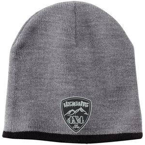 Heights 4x4 embroidered logo CP91 100% Acrylic Beanie