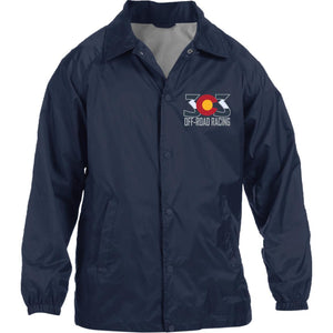 303 Off-road Racing embroidered logo M775 Harriton Nylon Staff Jacket