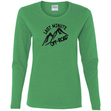 Last Minute Offroad G540L Gildan Ladies' Cotton LS T-Shirt