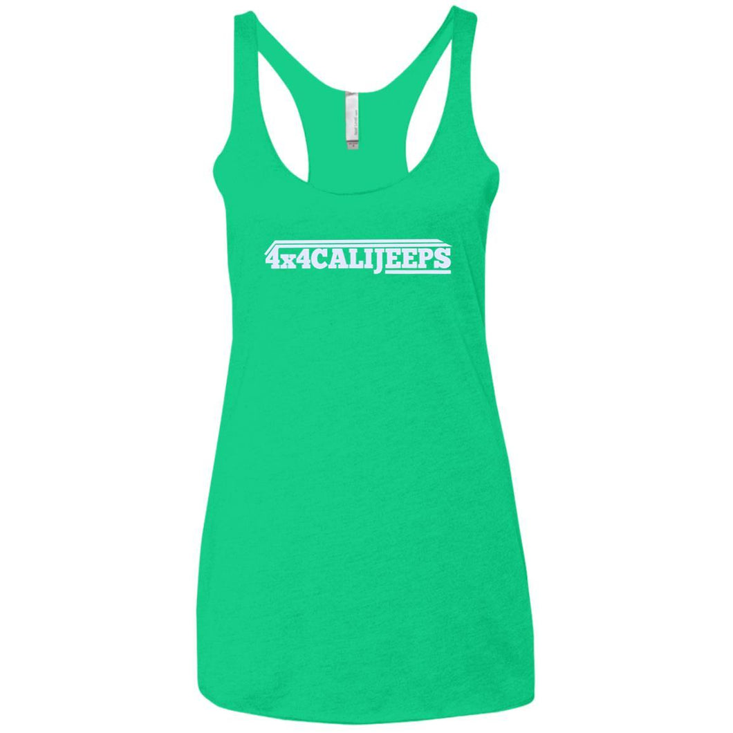 California Jeeps NL6733 Next Level Ladies' Triblend Racerback Tank