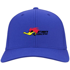 Foul Mouth Racing embroidered C813 Port Authority Flex Fit Twill Fullback Baseball Cap