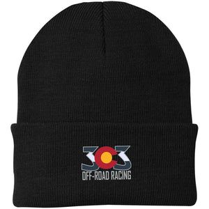 303 Off-road Racing embroidered logo CP90 Port Authority Knit Cap