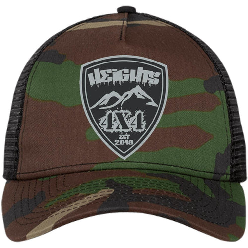 Heights 4x4 embroidered logo NE205 New Era® Snapback Trucker Cap
