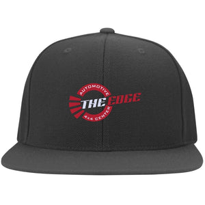 The Edge Automotive embroidered 6297F Fullback Flat Bill Twill Flexfit Cap
