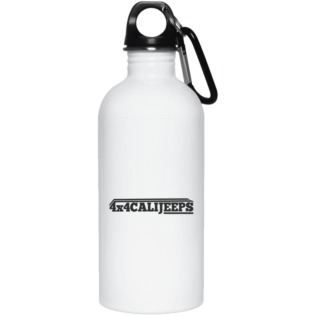 California Jeeps 23663 20 oz. Stainless Steel Water Bottle