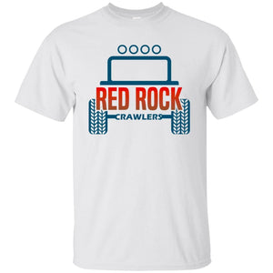 Red Rock Crawlers G200B Gildan Youth Ultra Cotton T-Shirt