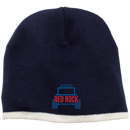 Red Rock Crawlers embroidered logo CP91 100% Acrylic Beanie