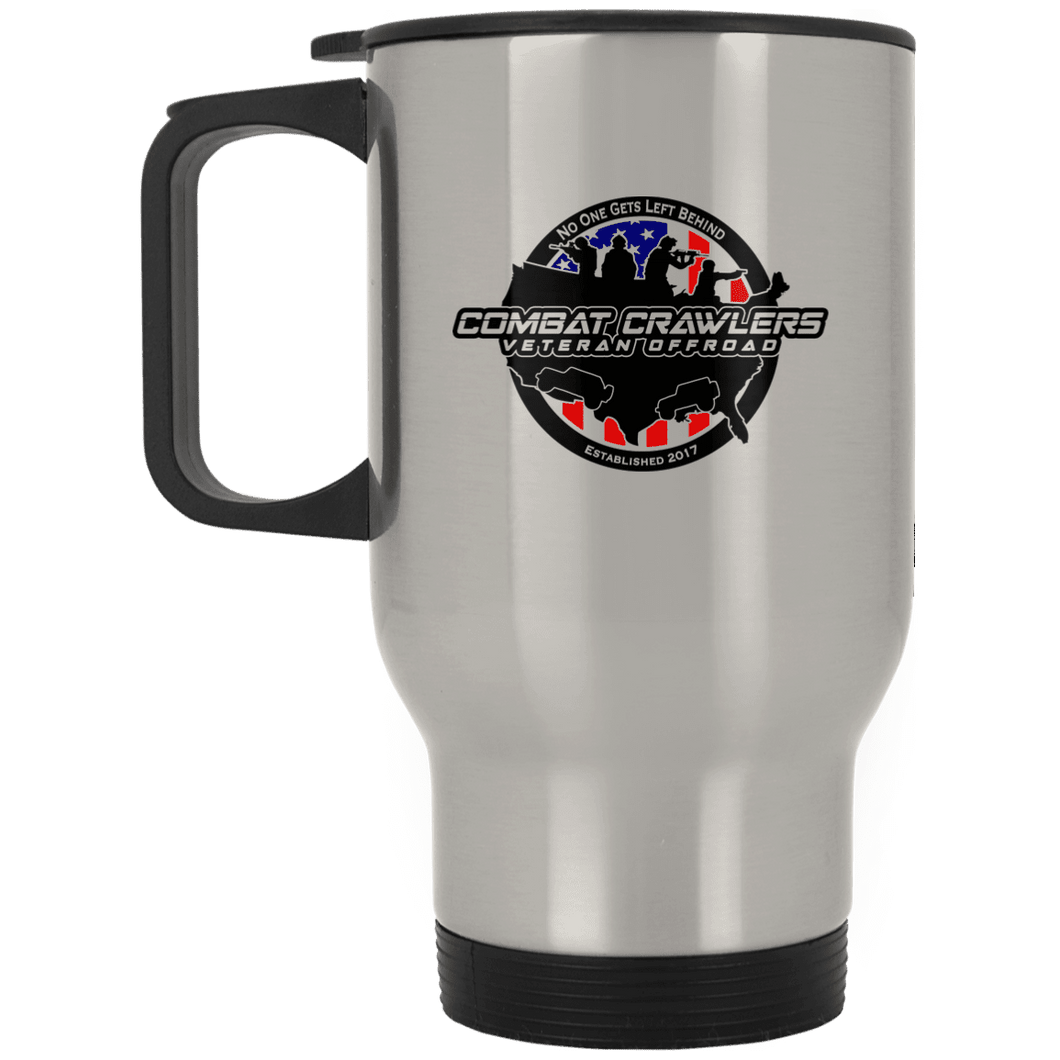 CCVOA XP8400S Silver Stainless Travel Mug