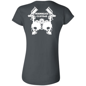 Rodriguez Customs 2-sided print G640L Gildan Softstyle Ladies' T-Shirt