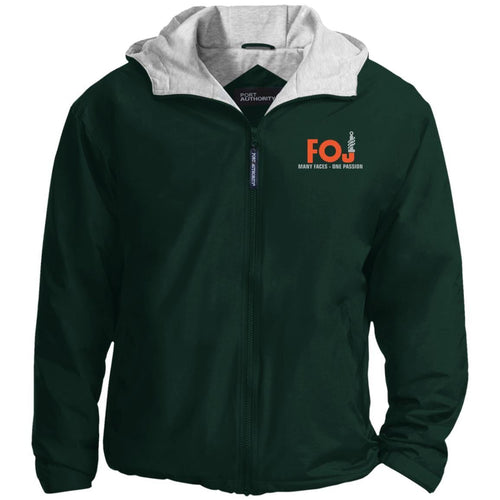 FOJ silver embroidered JP56 Port Authority Team Jacket