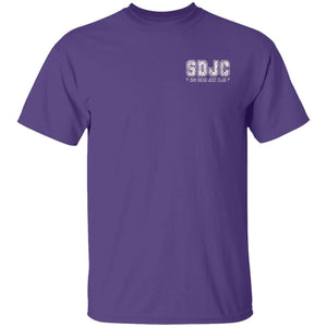 SDJC 2-sided print G500 Gildan 5.3 oz. T-Shirt
