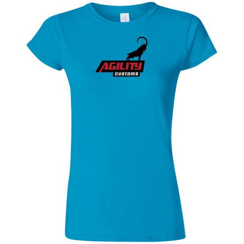 Agility Customs G640L Gildan Softstyle Ladies' T-Shirt