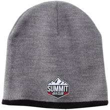 Summit 4x4 embroidered logo CP91 100% Acrylic Beanie